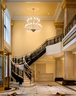 JW Chicago Lobby Staircase