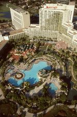 Orlando WorldCenter Aerial Pool