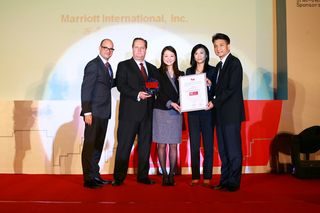 Marriott Named a Top Employer in China