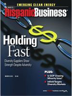 Hispanic business supplier diversity 2012