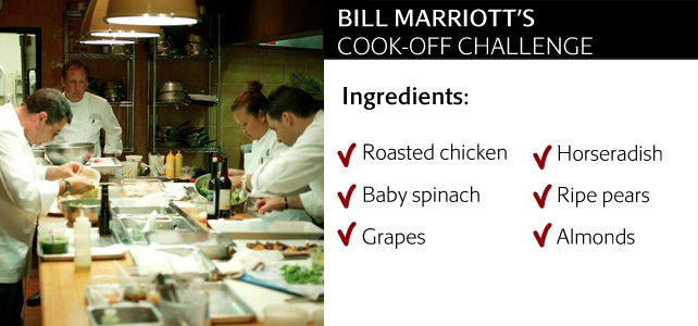 Bill Marriott's Cook-Off Challenge Ingredients
