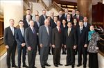Marriott International executives with Shanghai cluster leadership