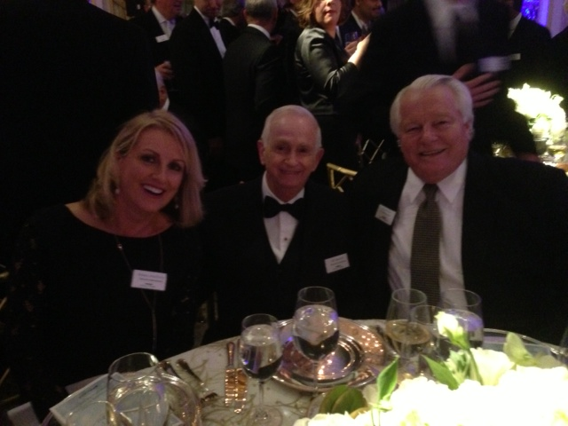 Eileen McElroy Bill Marriott Roger Dow