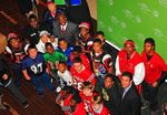 USA Football and several children from local youth football leagues