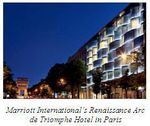 Marriott - Renaissance Arc de Triomphe Hotel in Paris
