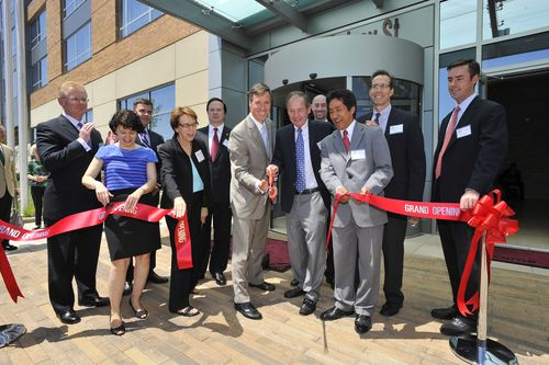 Residence Inn Ballston - Marriott CEO Gives Green Thumbs Up""