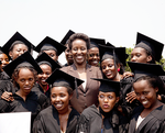 Akilah Graduates with The First Lady of Rwanda, Madame Jeannette Kagame