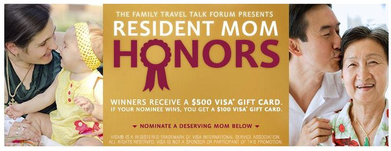 Residence Inn - Resident Mom Honors