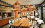 Moxy dining area