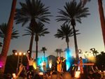 LaRoux explores the secrets of Palm Springs and plays an intimate gig in the desert at the Renaissance Indian Wells Resort and Spa
