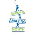 National Amazing Month logo