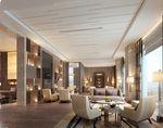 Congqing Marriott Hotel executive lounge