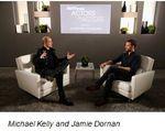 Michael Kelly and Jamie Dornan