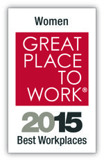 Great Place to Work for women logo
