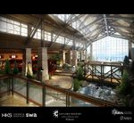 Gaylord Rockies Resort and Convention Center Grand Lodge from Lobby