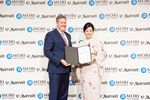 Craig Smith and Miwako Date signed agreements for 5 Mori Trust hotels